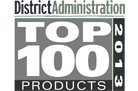 District Administration top 100 product Award in 2013