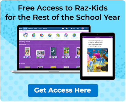 Free Access to Raz-Kids for the Rest of the School Year